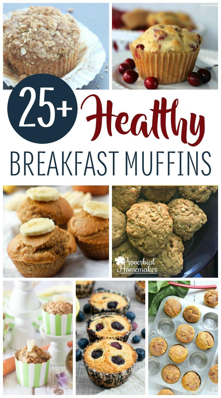 25 Healthy Breakfast Muffins